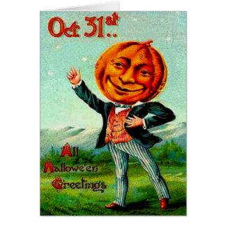 Mr. Pumpkin Cards