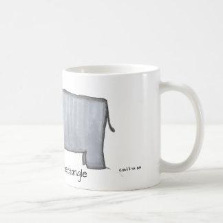 Mr. Rectangle by Callum Coffee Mug