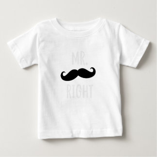 Mr Right Baby T-Shirt