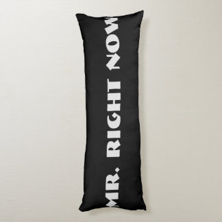 Mr. Right Body Pillow