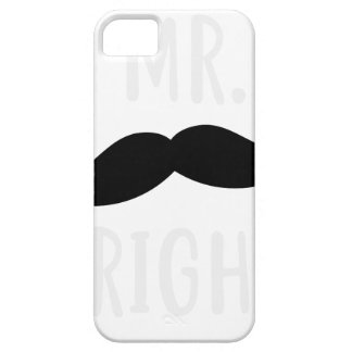 Mr Right iPhone 5 Case