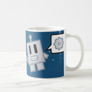 Mr. Roboto is Lost in Space Basic White Mug