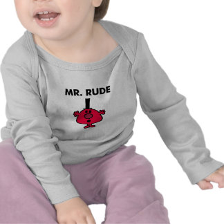 Mr. Rude   Red-Faced Anger T-shirt