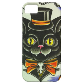 Mr. Scary Cat iPhone 5 Cases