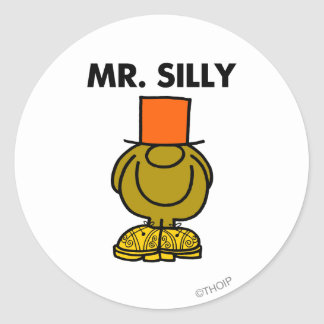 Mr. Silly | Hidden Eyes Classic Round Sticker