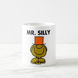 Mr. Silly | Hidden Eyes Basic White Mug
