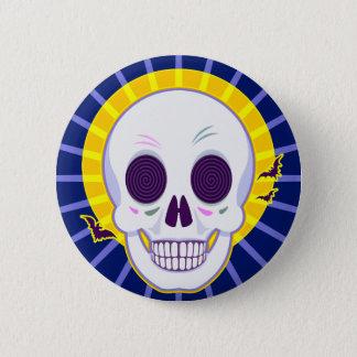 Mr. Skull 6 Cm Round Badge