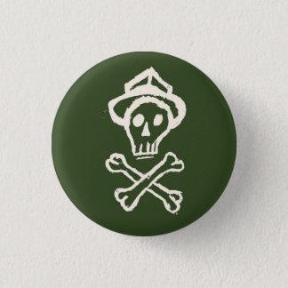 Mr. Skullington - Gang Green 3 Cm Round Badge