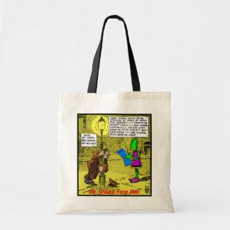 Mr. Skygack Observes a Drunk Tote Bags