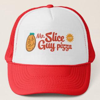 Mr. Slice Guy pizza hat