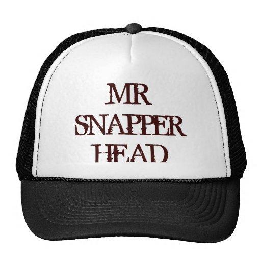 MR SNAPPER HEAD MESH HAT