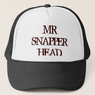 MR SNAPPER HEAD TRUCKER HAT