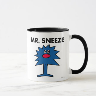 Mr. Sneeze | Jagged-Edged Body Mug