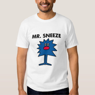 Mr. Sneeze | Jagged-Edged Body T Shirts