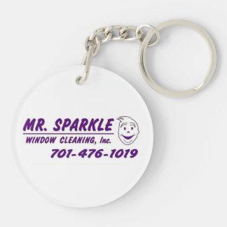 Mr. Sparkle Keychain