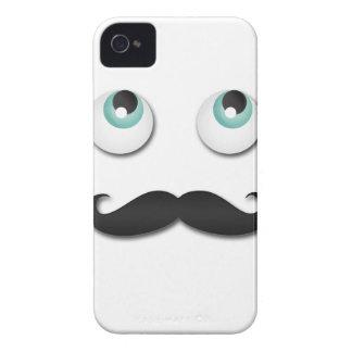 Mr stache iPhone 4 Case-Mate cases