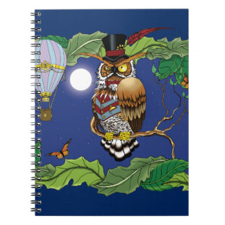Mr.Steam at Night Notebooks