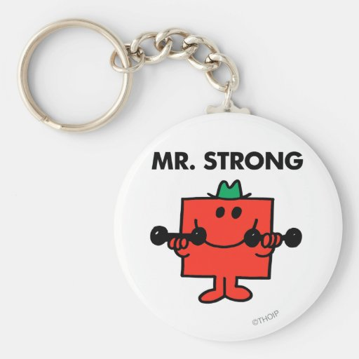 Mr Strong Classic 2 Keychains