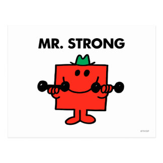 Mr Strong Classic 2 Postcard