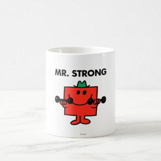 Mr. Strong | Lifting Weights Basic White Mug