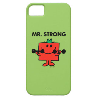 Mr. Strong | Lifting Weights iPhone 5 Cover
