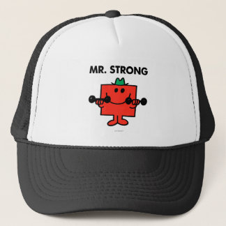 Mr. Strong | Lifting Weights Trucker Hat