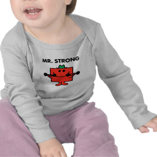 Mr. Strong | Lifting Weights Tee Shirt