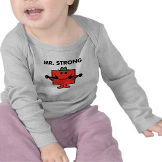 Mr. Strong | Lifting Weights Tee Shirt
