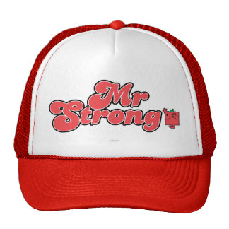 Mr. Strong | Red Lettering Cap