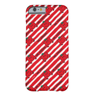 Mr Strong | Red Stripes Pattern Barely There iPhone 6 Case
