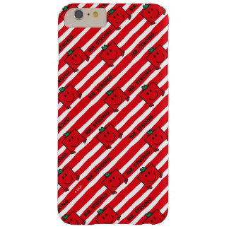 Mr Strong   Red Stripes Pattern Barely There iPhone 6 Plus Case