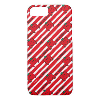 Mr Strong | Red Stripes Pattern iPhone 8/7 Case