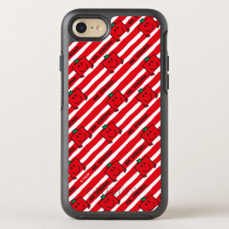 Mr Strong | Red Stripes Pattern OtterBox Symmetry iPhone 8/7 Case