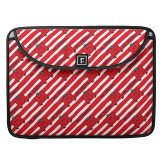 Mr Strong   Red Stripes Pattern Sleeve For MacBooks