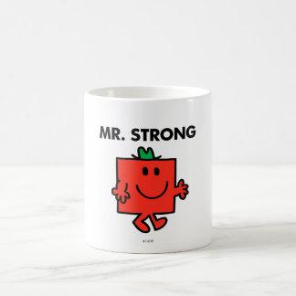 Mr. Strong Waving Hello Coffee Mug
