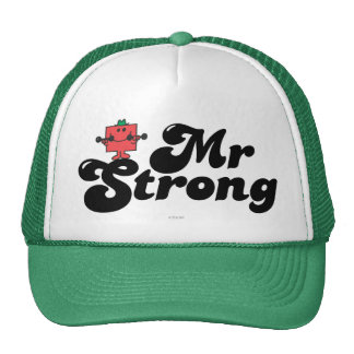 Mr. Strong | Weights & Bubble Lettering Cap