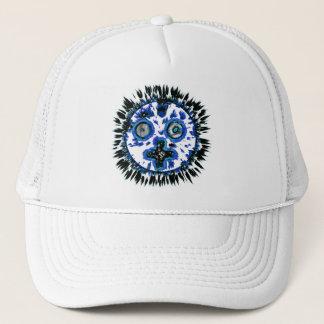 mr sun blue trucker hat