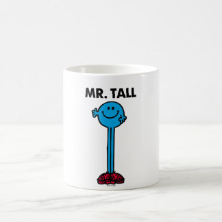 Mr. Tall   Standing Tall Basic White Mug