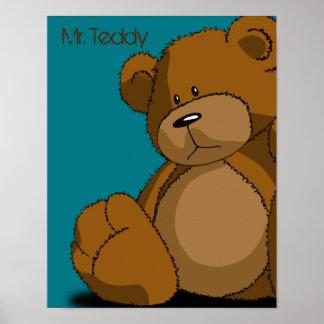 Mr. Teddy Poster