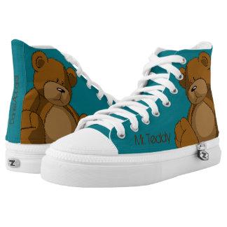 Mr. Teddy Printed Shoes