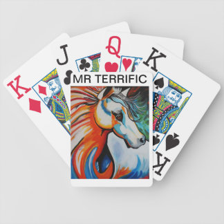 MR  TERRIFIC BICYCLE PLAYING CARDS