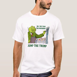 Mr. The Toad for President #2 T-Shirt