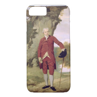 Mr Thrale, c.1770-80 (oil on canvas) iPhone 7 Case