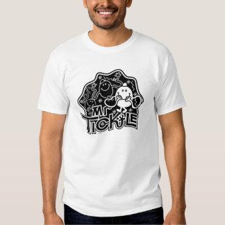 Mr. Tickle | Black & White Fun Tshirt