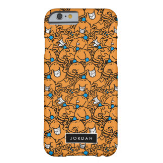 Mr Tickle | Orange Tickle Pattern | Add Your Name Barely There iPhone 6 Case