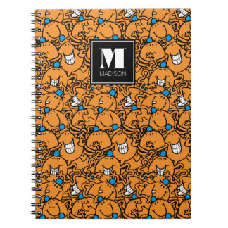 Mr Tickle | Orange Tickle Pattern | Add Your Name Notebook