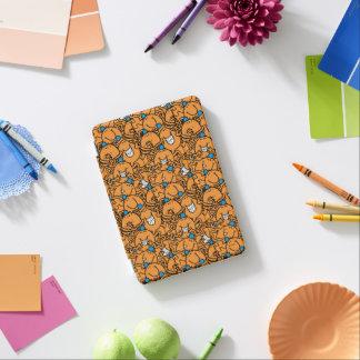Mr Tickle   Orange Tickle Pattern iPad Mini Cover