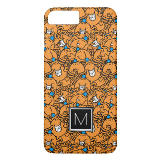 Mr Tickle   Orange Tickle Pattern   Monogram iPhone 8 Plus/7 Plus Case