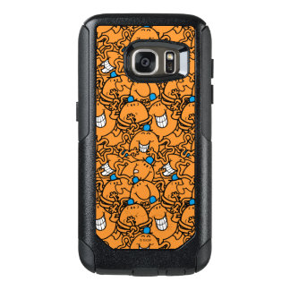 Mr Tickle | Orange Tickle Pattern OtterBox Samsung Galaxy S7 Case