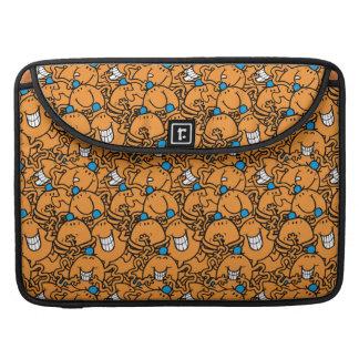 Mr Tickle | Orange Tickle Pattern Sleeve For MacBooks